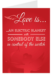 Love is an Electric Blanket
