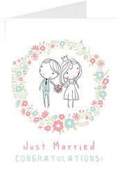 Just Married - Congratulations