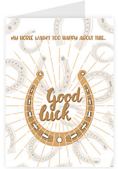 Good luck - Horse shoe