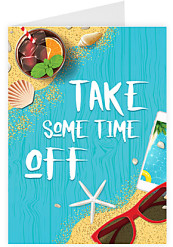Take some time off