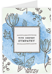 Sympathy cards 299 free uk delivery hipper with deepest sympathy solutioingenieria Images