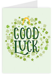 Good luck - Shamrocks