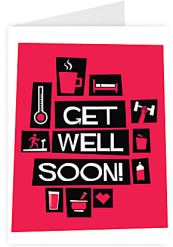 Get well soon - quirky