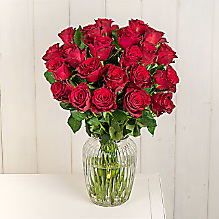 Flower bouqet Two Dozen Red Roses