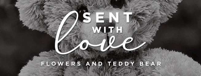 Flowers and teddy gifts - delivered free 7 days / week