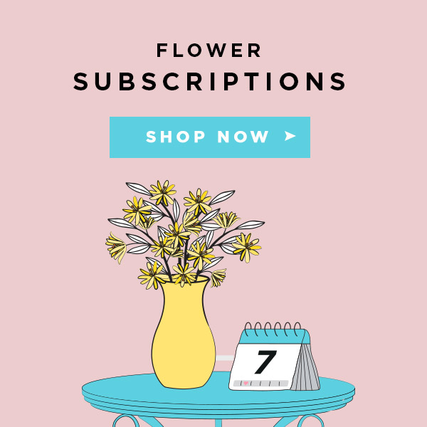 Subscription flowers in UK