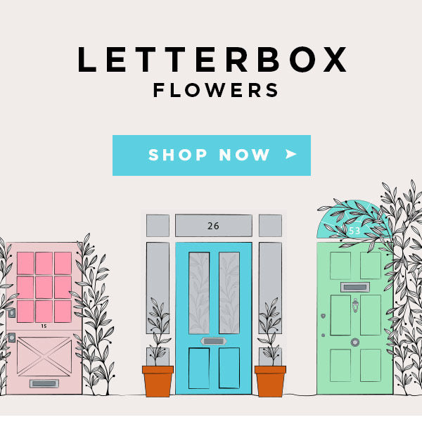Congratulations letterbox in UK