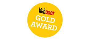 Webuser gold award
