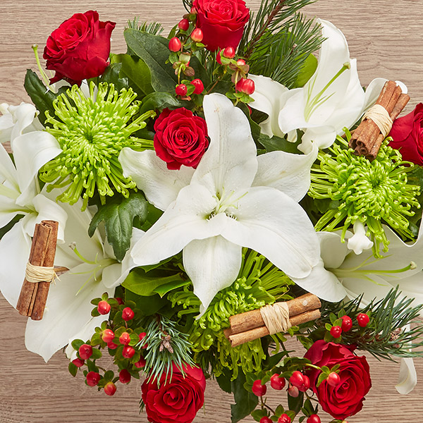 UK Christmas flower delivery